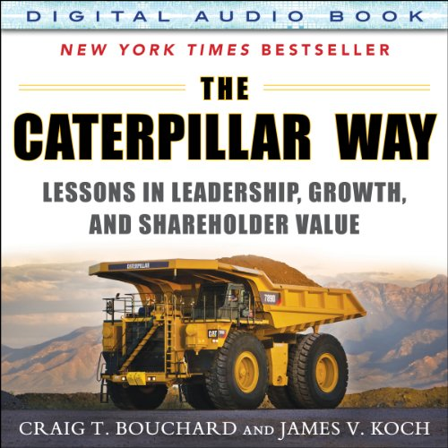 The Caterpillar Way audiobook cover art
