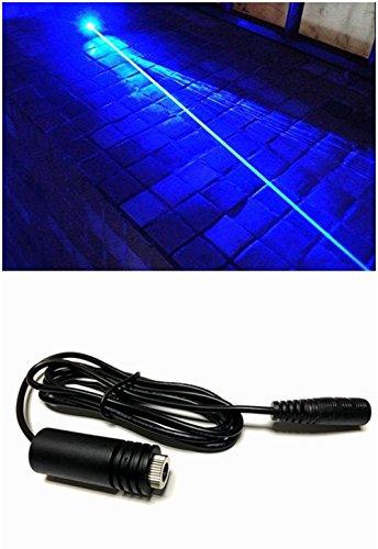 445-450nm High Power 1.6W 1600mw Blue Laser Diode Dot Module / w18x45mm & 6.7-7.5V