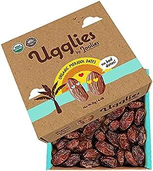Joolies Ugglies Organic Whole Medjool Dates 4.4 Lb. Box