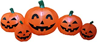 Impact Canopy Inflatable Outdoor Halloween Decoration, Pumpkin Patch Family, 4 Feet Long