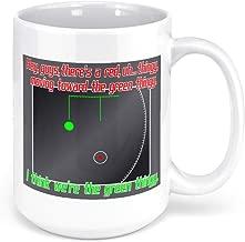 Tenacitee Green Thingy Coffee Mug, 15oz, White