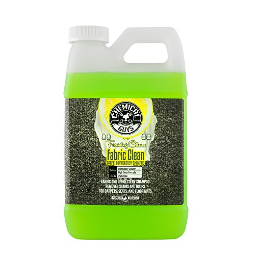 Chemical Guys CWS20364 Foaming Citrus Fabric Clean Carpet & Upholstery Shampoo, (64 oz/.5 Gal)