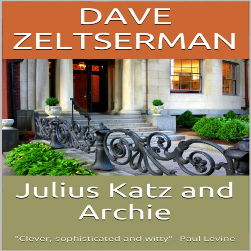 Julius Katz and Archie audiobook cover art