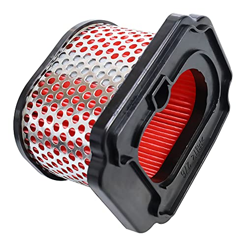 Yerbay Filtro de aire para Yamaha FZ-07 15-17/ MT-07 14-20/ XSR700 MTM690 16-20/ XTZ690 Tenere 2020/ 700 Tracer 16-20