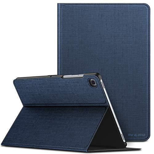 INFILAND Hülle für Samsung Galaxy Tab S5e, Ultraleicht Halten Schutzhülle Case mit Auto Schlaf/Wach Funktion für Samsung Galaxy Tab S5e (T720/T725/T727) 10.5 Zoll 2019,Dunkleblau