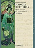 madama butterfly ed. tradizionale - opera completa testo cantato in italiano-inglese (vocal score)