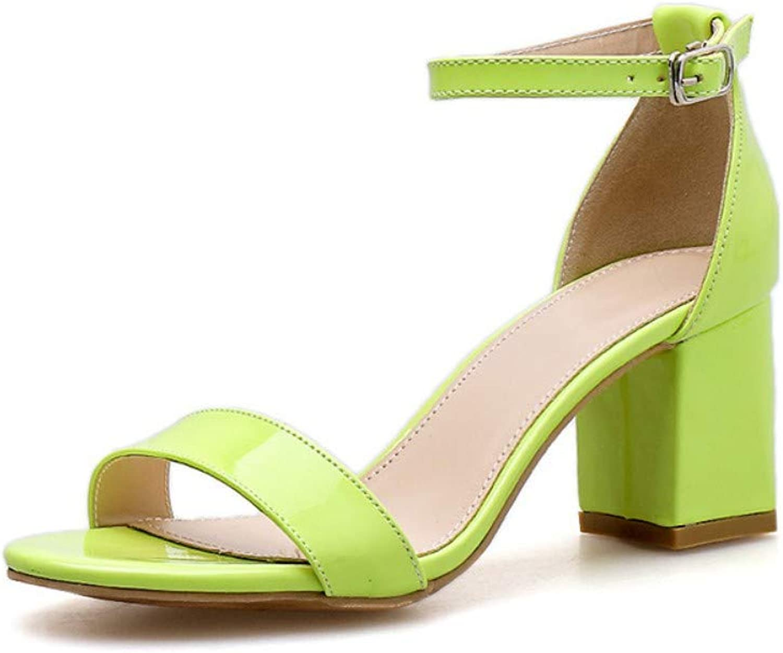 JQfashion Women's High Heels Sandals Fishmouth Roman shoes