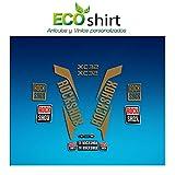 Ecoshirt 1P-WWO5-JB8P Autocollants Fork Rock Shox Xc32 2017 Am170 Autocollants pour Fourche, Or