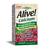 Best Bone Supplements - Nature's Way Alive! Calcium Bone Formula Supplement Review