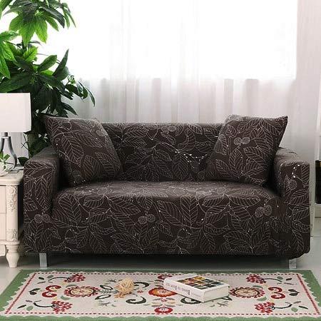 Conjuntos de sofás de Tela elástica Funda de sofá Universal con Todo Incluido Toalla de Cubierta Cojín de sofá de Cuero de Verano Europeo A12 2 plazas