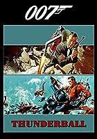 XTTGGD 大人のジグソーパズルレジャージグソーパズルサンダーボール映画のポスター大人と子供S知的おもちゃ風景犬猫パズル75X50Cm