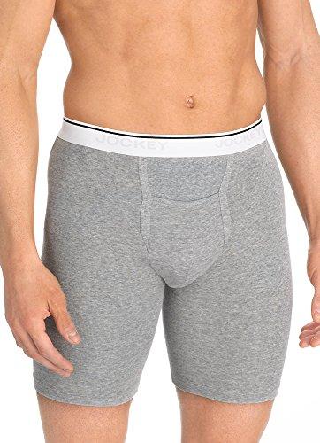 Jockey Men's Underwear Pouch Midway Brief - 2 Pack, Violet, XL