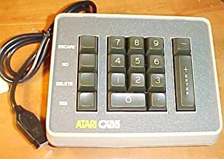 Atari Cx85 Numeric Keypad Numpad Used with Additional Progams, Owner's Manual, and Technical Reference Notes. Work with Atari 800, 810 Disk Drive.