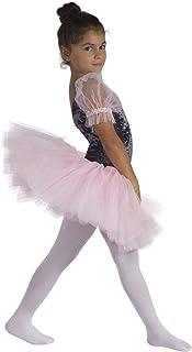 CALZITALY Collant Danza Bambina | Calze Ballet Bimba | 40 Den | Rosa, Nero, Naturale, Bianco |