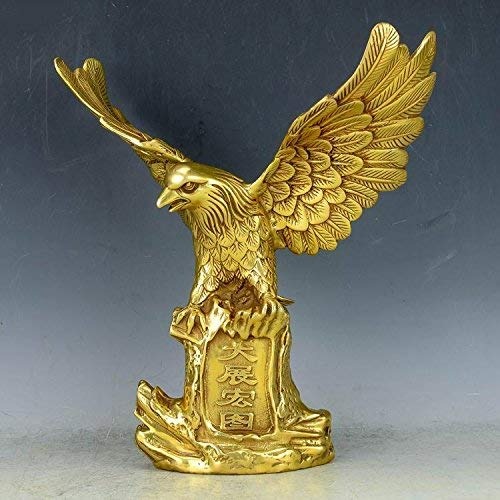 Bronce Adler halcón Eagle bronce personaje mármol escultura pájaro estatua grán nuevo