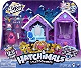 HATCHIMALS 6047221 CollEGGtibles, Temporada 6, Juego de salón con Purpurina con 2 Sombreros exclusivos, para niños a Partir de 5 años, Multicolor