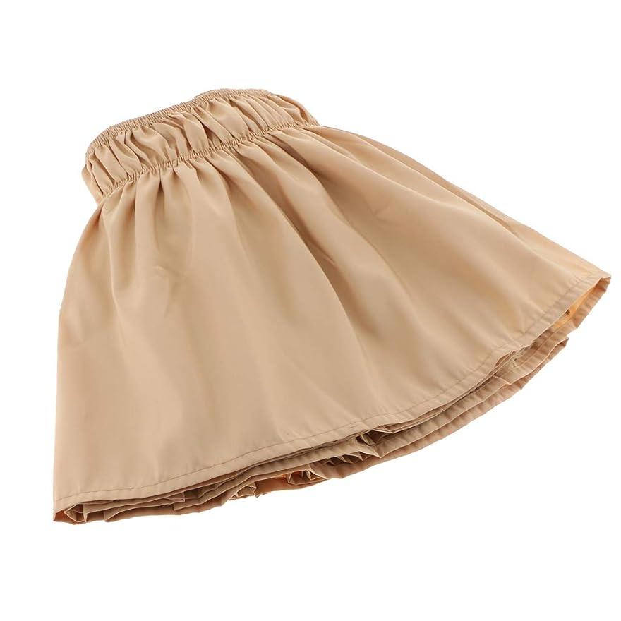 計算する事故適度なKESOTO ベッドスカート ヴィンテージ風 通気性 快適 耐久性 洗濯可能 伸縮バンド付き 全5色4サイズ - イエロー, サイズ3