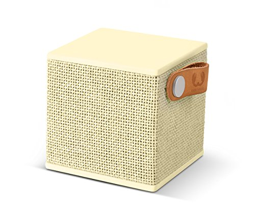 Fresh 'n Rebel ROCKBOX CUBE Fabriq Edition Buttercup | Kabelloser Bluetooth Lautsprecher