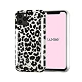 LuMee Duo by Case-Mate - Light Up Case for iPhone 11 Pro Max - Dual Light Up Selfie Case - Front & Rear Illumination - Leopard Glitter