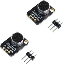 GY-MAX4466 ماژول صدا سنسور تقویت کننده میکروفون Electret با کنترل افزایش قابل تنظیم برای آردوینو (بسته 2)