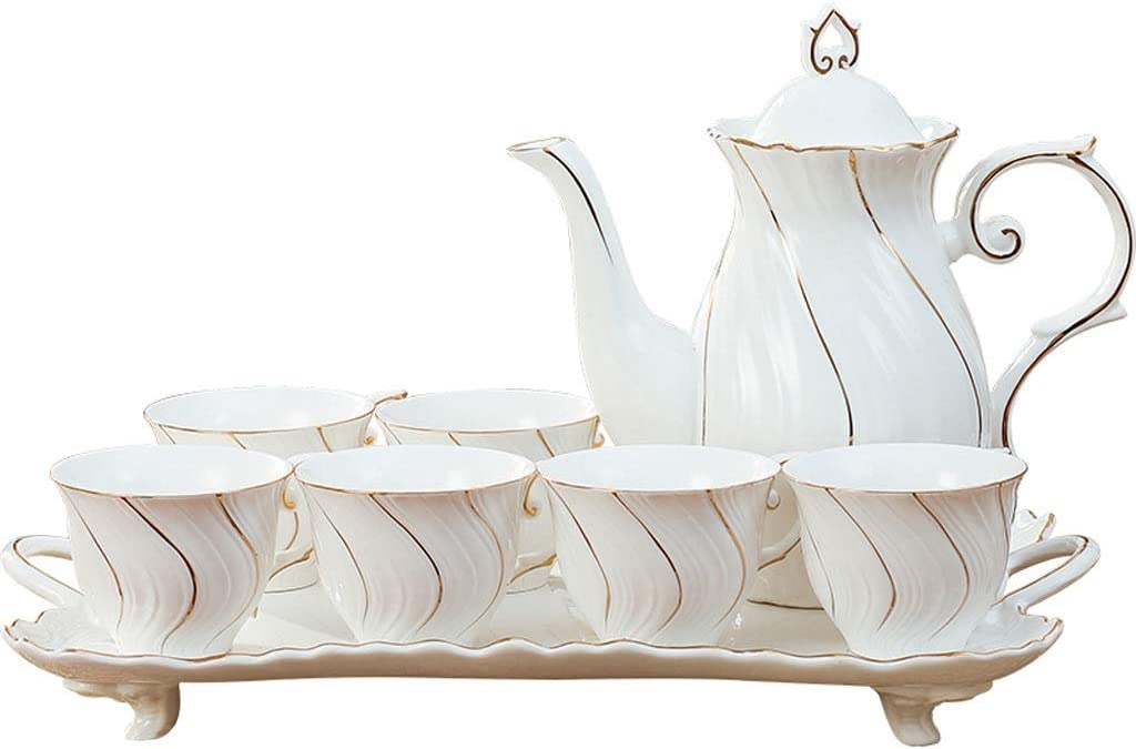 Ranking TOP9 2021 new Tea Set Creative Afternoon Home Room 6 Living Cup Pa