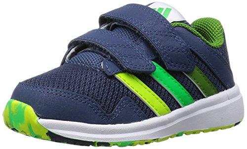 adidas Snice 4 CF I, Zapatos (1-10 Meses) Unisex bebé, Azul/Verde (Azumin/Limsol/Limnat), 22 EU