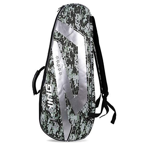 Li-Ning 2 in 1 Badminton Kit-Bag - Grey Camouflage
