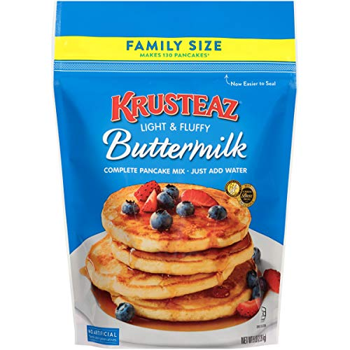 Krusteaz, Pancake Mix, Buttermilk 5 Lb (Packaging May Vary)