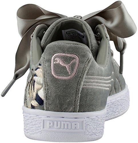 Puma Basket Heart Hyper Emb W Calzado Rock Ridge
