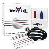 Triple Golf Ball Liner Alignment...