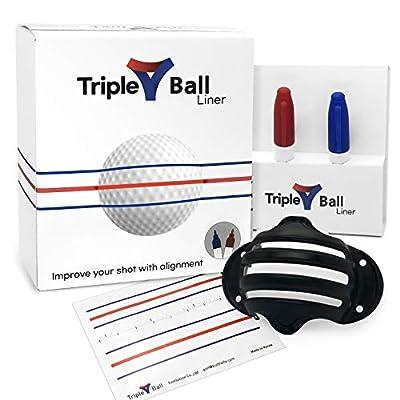 Triple Golf Ball Liner