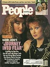 The Judds, Naomi and Wynonna Judd, Linda Evans and Yanni, Nadia Comaneci, Jonathon Brandmeier - November 26, 1990 People Weekly Magazine