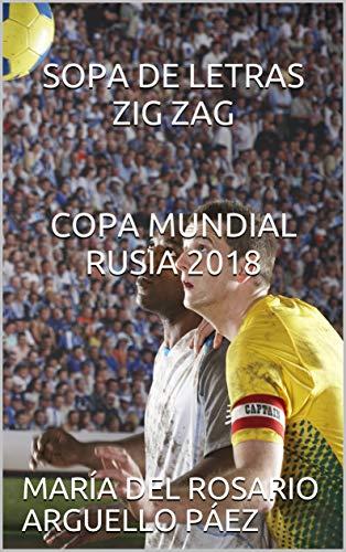 SOPA DE LETRAS ZIG ZAG COPA MUNDIAL RUSIA 2018