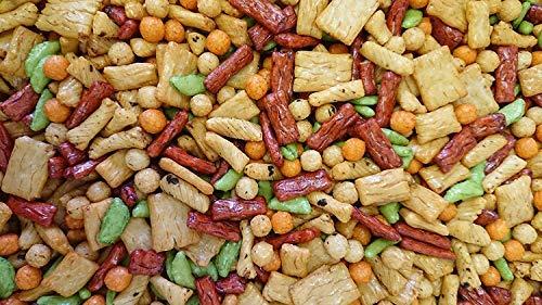 Mezcla de Aperitivo de Palitos de Arroz Rigato I Frito Salados en Pack de 1kg | Surtido Variado de Harina de Arroz, Tapioca y Paprika | Sabor Asiático con Toque a Sal, Soja y Agridulce | Dorimed