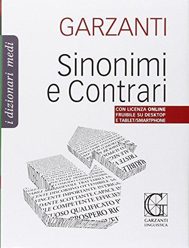 Dizionario medio dei sinonimi e contrari