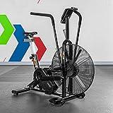 Bicicleta Assault METIS Fury | Bicicleta Estática de Interior para Cardio-Fitness | Assault Bike con Resistencia al Aire | Bicicleta para Crossfit con 7...