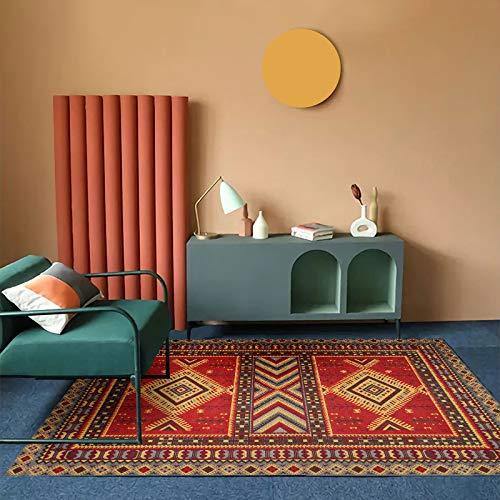 MENEFBS - Tappeto multifunzione in cotone stampato, per ingresso, lavanderia, cucina, bagno, camera da letto, dormitorio, 160 x 230 cm