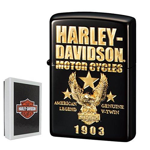 zippo ライター 名入れ ジッポライター ジッポーライター ハーレーダビッドソン HARLEY DAVIDSON かっこいい バイク好き オイルライター 200 日本国内限定モデル メタル貼り 豪華メタル 彼氏 男性 メンズ 喫煙具 ブランド ワシ イ
