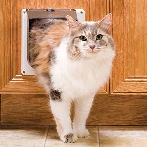 PetSafe Interior 2-Way Locking Cat Door - Indoor Pet Flap - Hides Litterbox or Food - DIY Installation