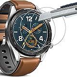 [3 Unidades] Protector de Pantalla para Huawei Watch GT,THILIVE Vidrio Cristal Templado 9H...