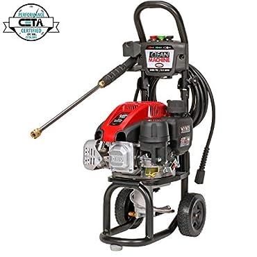 Simpson 60912 Clean Machine Gas Powered Pressure Washer 2400 PSI 2.0 GPM 149cc