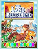 Fun  N  Joy - The Land Before Time Coloring Book: Perfect Christmas Gift For Kids And Adults Who Love The Land Before Time: Unofficial Coloring Book For Encouraging Creativity