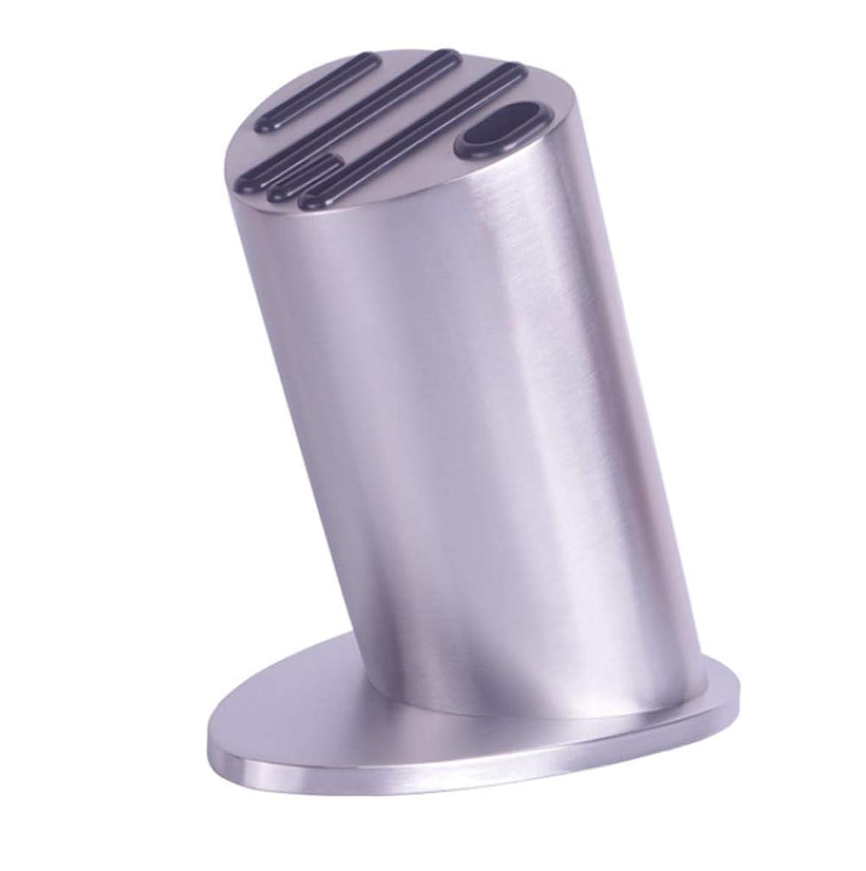 着るドメイン無謀安全のために(ナイフなし)CS-DJナイフブロックステンレス鋼の耐久性のあるナイフ主催ブロック、スペースセーバーナイフストレージ包丁箸ストレージは20 * 23センチメートルラック Kitchen (Color : AS PHOTO, Size : ONE SIZE)
