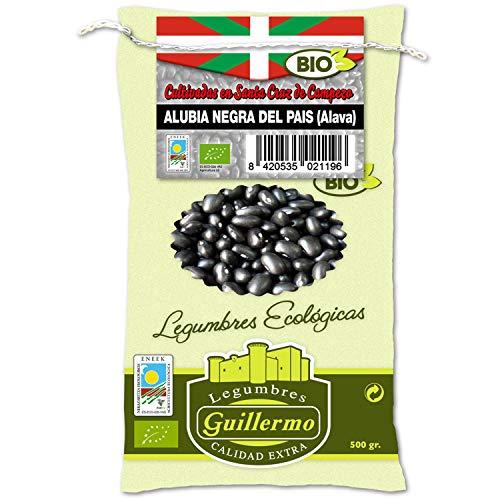 Guillermo Alubias Negras Judías del País Vasco Ecológicas BIO Gourmet Categoría Extra Saco 500gr