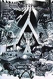 Yutirerly 24X36 INCH/Art Silk Poster/New Brand Clockwork