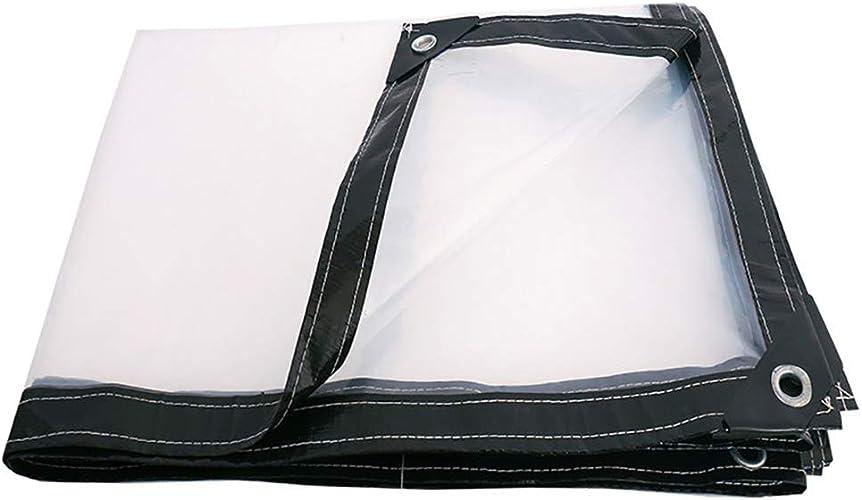 Bache de Prougeection Transparent Tissu Imperméable Tissu Imperméable épaissir Toile Plastique Imperméable 2 × 3M (Taille   3×4M)