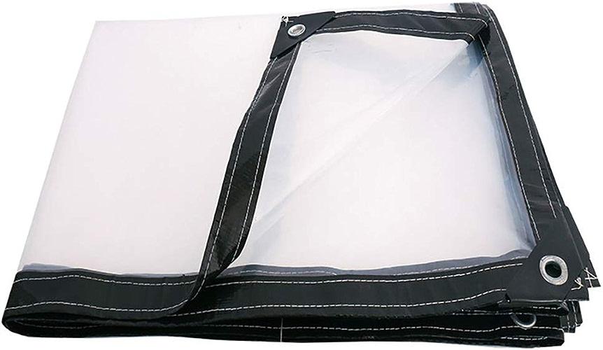 Bache de Prougeection Transparent Tissu Imperméable Tissu Imperméable Toile Plastique épaissir 100G   M2 (Taille   4M4M)