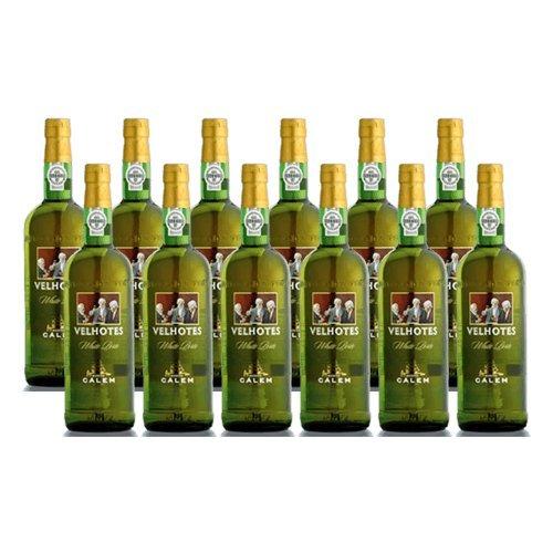 Vino di Oporto Calem Velhotes White - Vino Liquoroso- 12 Bottiglie