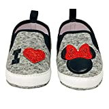 Disney Minnie Mouse Red and Black Infant Shoes - Size 9-12 Months