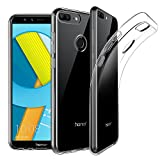 EasyAcc Huawei Honor 9 Lite Hülle Hülle, Dünn Crystal Clear Transparent Tasche Handyhülle Cover Soft Premium-TPU Durchsichtige Schutzhülle Backcover Slimcase für Huawei Honor 9 Lite
